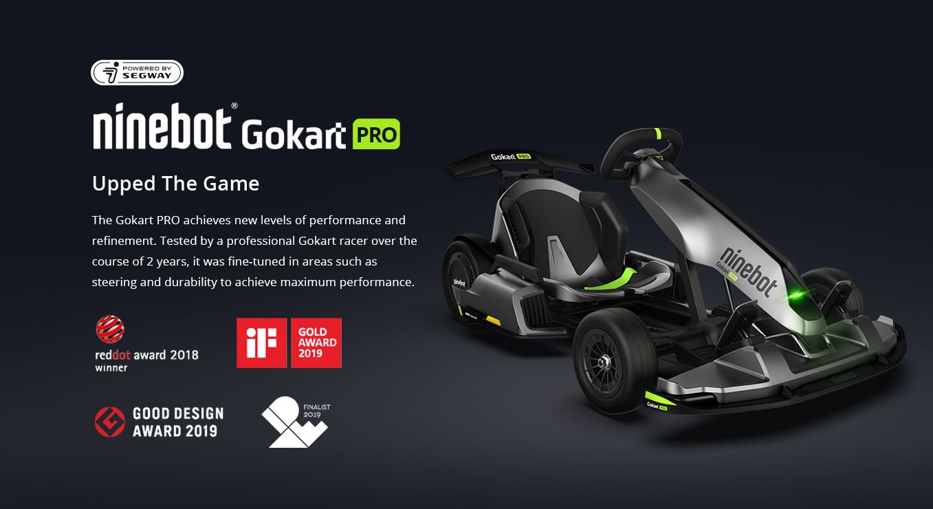 Up the game with Ninebot Gokart PRO